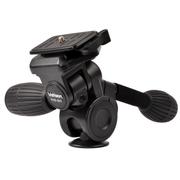金钟 PHD-52Q 数码摄影单反相机三脚架云台系列专用三维云台带快装板QB-3
