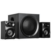 金河田 多媒体台式F168 音箱 (2.1有源、木质、超重低音、高保真、节能环保、影院级享受)