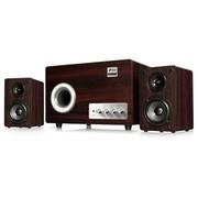 三诺 LA-6906P 2.1声道多媒体音箱 电脑音响 木质低音炮 高、低音独立调节