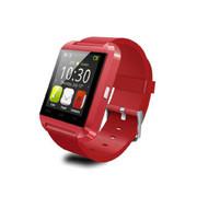 现代演绎 W330 智能穿戴触摸蓝牙手表 运动可测运动量 户外登山遥控拍照 红色