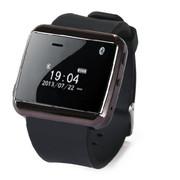 现代演绎 W320 蓝牙手表 苹果三星小米通用88必发手机娱乐伴侣 远程拍照 防丢提醒 解放双手安全开车 黑色
