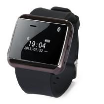 现代演绎 W320 蓝牙手表 苹果三星小米通用手机伴侣 远程拍照 防丢提醒 解放双手安全开车 黑色产品图片主图
