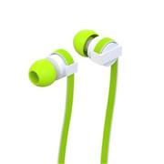 wisebrave 手机耳机 适用于苹果三星小米华为魅族通用 入耳式重低音手机电脑mp3 绿色