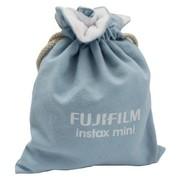 富士 instax mini相机彩色袋(淡蓝)