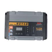 纽福克斯 NFA 12V全自动数显汽车电瓶充电器 12A 蓄电池修复 6814N