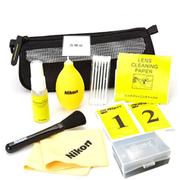 尼康 九件清洁套装 单反相机清洁套装 收纳包 气吹子 镜头布清洁液