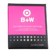 B+W 镜头湿巾纸 擦镜纸 湿纸 光学湿巾