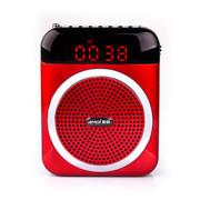 夏新 V88 扩音器 插卡音箱 老年人唱戏机 收音机广场舞 播放器 可乐红 配置8G内存