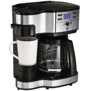 Hamilton Beach 49980-CN 单杯/咖啡壶 双模式咖啡机