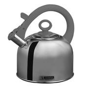 斑马 泰国原装进口Zebra高级不锈钢时尚琴音不锈钢水壶3.5L 113491 灰色