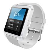 斯波兰 U8触屏智能蓝牙手表 智能手镯 腕表 运动计划海拔仪 免提通话 遥控拍照 智能防丢 白色