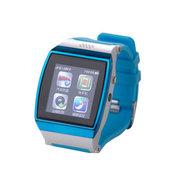 斯波兰 UPro智能手表 独立通讯 计步器 智能佩戴 蓝牙手表 可插手机卡使用 拍照防丢 天际蓝