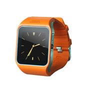 斯波兰 UPro2可插SIM卡智能手表触屏蓝牙手表手机 智能防丢 遥控拍照QQ微信远程通知 橙色