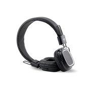 唯康 DE135 黑色PU皮耳垫 头戴式耳机 黑色