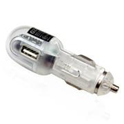 奥舒尔 ozio手机充电器EA15车载充电器带usb汽车充电器