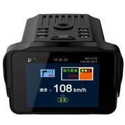 征服眼 WZ9  车载 行车记录仪+电子狗一体机 固定流动测速一体机
