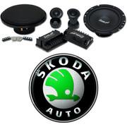 声琅(SINGLAN) SL-FS275 汽车音响 无损音质 改装高音中低音标准6.5寸+配件  斯柯达全系