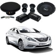 声琅(SINGLAN) SL-FS275 汽车音响 无损音质 改装高音中低音标准6.5寸+配件 索纳塔8