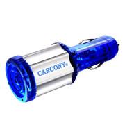 卡康尼 CARCONY 汽车节油器 汽车稳压器负离子空气净化器提升动力 蓝色