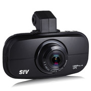 SIV -M6S行车记录仪 安霸A2S70 全高清1080P 超广角140度 夜视王停车监控 标配+8G卡