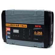 纽福克斯 NFA 12V 24A数显手动全自动智能汽车电瓶充电器 引擎启动