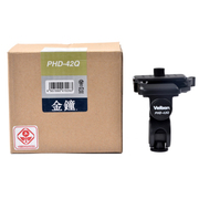 金钟 PHD-42Q数码摄影单反相机三脚架云台系列云台带QB-62快装板