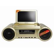 利视达 1011D 9英寸高清便携DVD组合 音响卡拉OK唱戏机电视机收音机 组合迷你音响