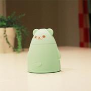 伊品堂 加湿器 百变小熊 超静音迷你USB (送女友生日礼物 办公室) 青色