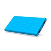 E能之芯(ELITEPOWER) 超薄移动电源 聚合物大容量充电宝 双USB智能安全手机平板通用充电宝U20 10000mAh白蓝