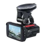 快E步 G3 170度超广角行车记录仪固定流动测速电子狗 预警仪 A7安霸1080P夜视高清 黑红色 标配+8G卡