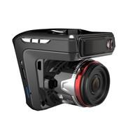 快E步 G7 170度超广角行车记录仪固定流动测速电子狗 预警仪 A7安霸1080P夜视高清 黑红色 标配