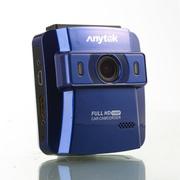安尼泰科 AT750B 行车记录仪 高清 1080p广角 超强夜视 迷你记录仪 蓝色16G卡