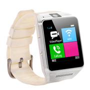 斯波兰 C5智能手表蓝牙手表智能手环影音娱乐插卡手表手机蓝牙通话功能移动联通卡可用 白色