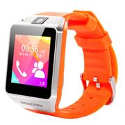 斯波兰 C5智能手表蓝牙手表智能手环影音娱乐插卡手表手机蓝牙通话功能移动联通卡可用 橙色