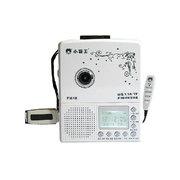 小霸王 M618 USB磁带机U盘TF卡录音机MP3转录英语学习 同步教材单词歌词显示 白色