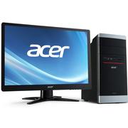 宏碁 AT7-N52 台式电脑 (G3240双核 4G 500G 集显 DVD 键鼠 win8.1 )19.5英寸