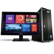 清华同方 精锐X750-BI01 台式电脑(i3-4130 4G 500G GT705 1G显存 前置USB3.0 DOS)黑色