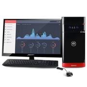 清华同方 精锐X850H-BI01 台式电脑(i5-4440 4G 500G GT705独显 前置USB3.0 DOS)