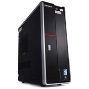 清华同方 精锐X560C-BI01 台式主机(G3220 4G 500G GT705独显 前置USB3.0 DOS)黑