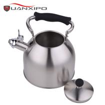 HUANXIPO 不锈钢小水壶烧水壶煤气电磁炉通用鸣笛水壶响水壶3l 黑色产品图片主图
