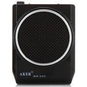 爱课(AKER) MR200 LED显示屏FM收音录音便携腰挂喊话器小蜜蜂扩音器(黑色)