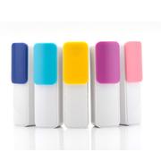新科 移动电源充电宝2600毫安锂离子电池S226手机充电宝通用型 全场京东配送货到付款 黄+蓝