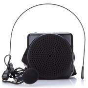 爱课(AKER) MR1602 便携腰挂锂电喊话器 教学导游小蜜蜂扩音器(黑色)