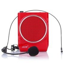 爱课(AKER) MR200 LED显示屏FM收音录音便携腰挂喊话器小蜜蜂扩音器(红色)产品图片主图