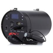 爱课(AKER) AK38X 液晶显示屏FM收音便携腰挂喊话器小蜜蜂扩音器(黑色)