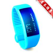 现代演绎 W4 智能传递 3D计步器 卡路里检测 智能手表 U盘智能 学生运动手环 蓝色 32G 官方标配