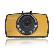 季风岛 车载Q8行车记录仪 170度超广角镜头 1080P全高清 一键锁定带夜视 无内存(颜色随机)