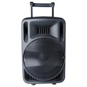 爱玛科 低音拉杆音响 户外广场移动便携式锂电拉杆音箱 天韵12号 12寸