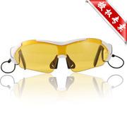 现代演绎 K1 触摸蓝牙眼镜 司机必备 太阳镜墨镜 偏光眼镜 买一送两片偏光镜片 黄色 官方标配