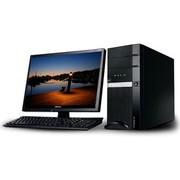 清华同方 精锐X200H 台式电脑(双核G1820 2G 500G 核芯显卡 前置USB3.0 DVD 有线键鼠)黑色